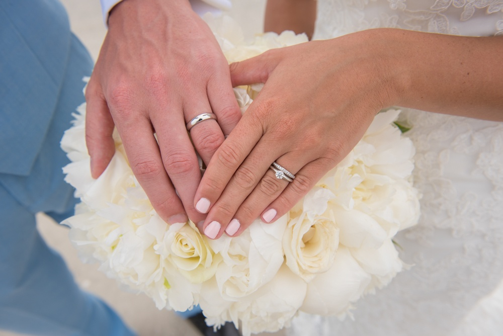 Bouquet and Wedding Ring Photo