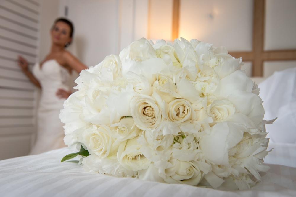 Bride and Bouquet Photo