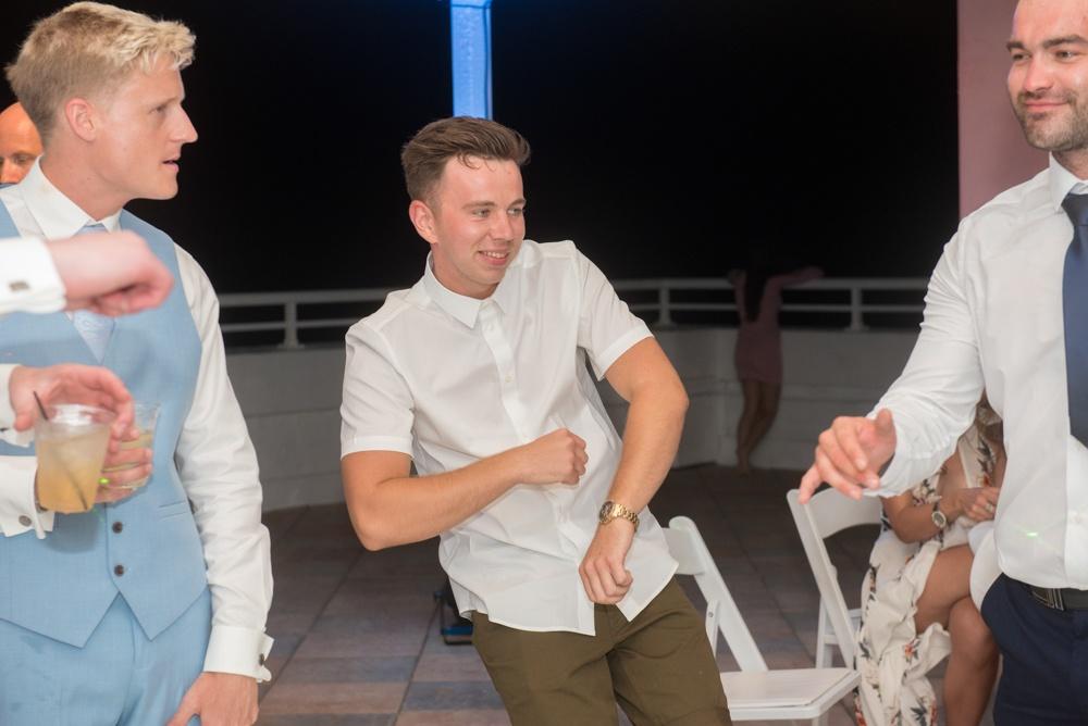Funny Wedding Dancing Photo