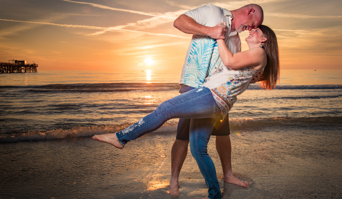 Tampa Engagement Photos -b y James Connell Photography - Redington Long Pier
