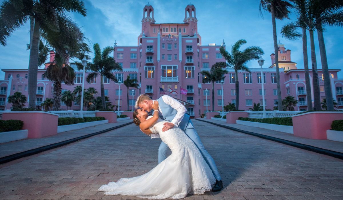 Don Cesar - St. Petersburg Florida Wedding Photo
