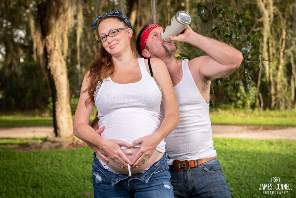 White Trash Redneck Maternity Photos JCP-10