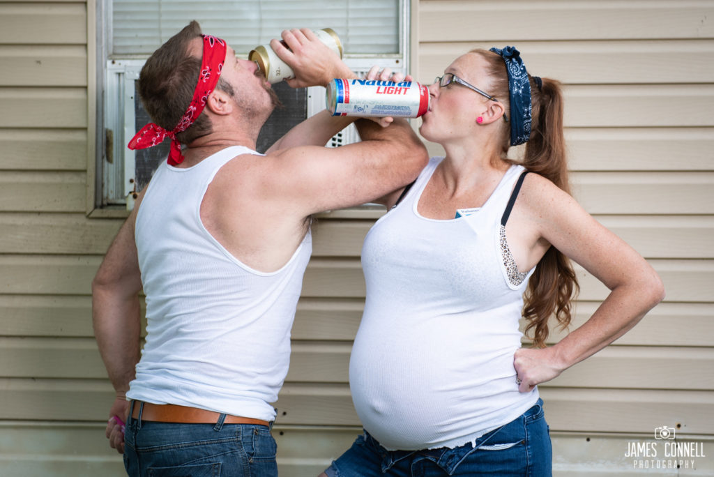 White Trash Redneck Maternity Photos JCP-2