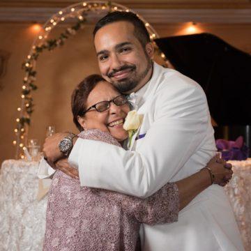 Mother Son Wedding Photo
