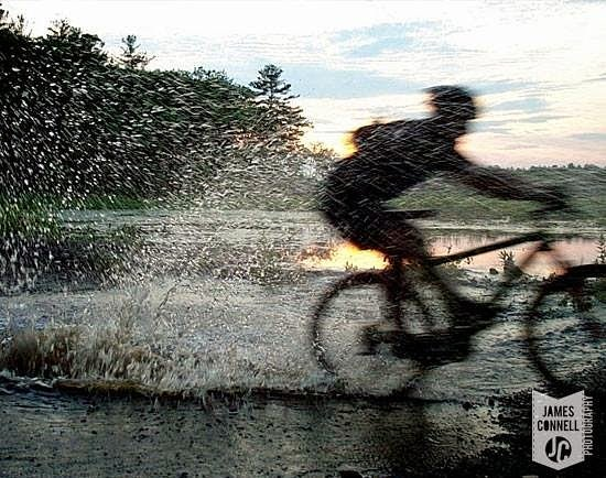 Sunset Mountain Bike Photo - Dracut State Forest